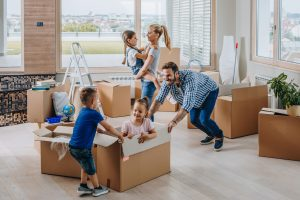 Rental payments bring a certain lifestyle to young families.