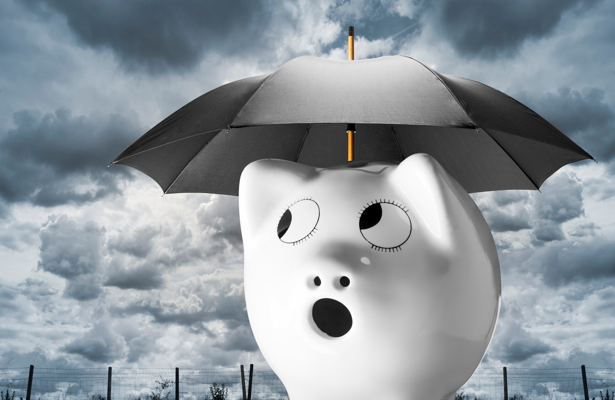 Stormy Clouds bring unhappy news from the mortgage company.