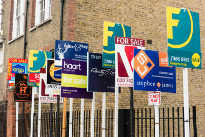 Proponents of banning For Sale Signs point out the clutter concept.